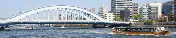 お風呂の中みたいなジャボンジャボンな状態の隅田川でした!
