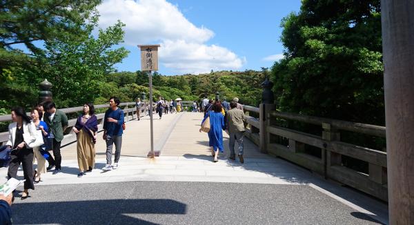 冬至にはまっすぐこの橋のど真ん中から日が上った気がしますが、夏至かな?
